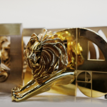 The Cannes Lion, coveted by all those in creative communications, advertising and related fields.