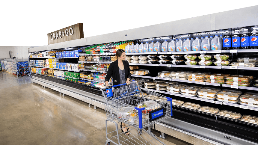 This isn't just a store, it's a tech innovation hub. Source: Walmart