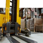 Amazon has invested in self-driving forklift technology