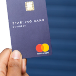 A Starling Bank business card,