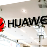 Sign of Huawei store at City Mall in Alajuela near San Jose, Costa Rica. Huawei is Chinese networking, telecommunications equipment, and services company