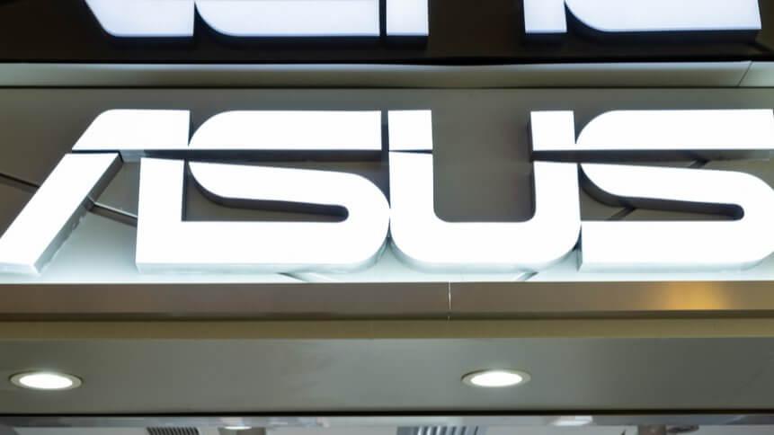 Asus store in Hong Kong.