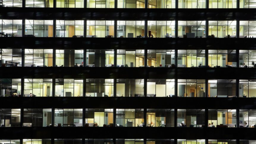 A continuous businesses isn't one that keep the lights on all day and night.