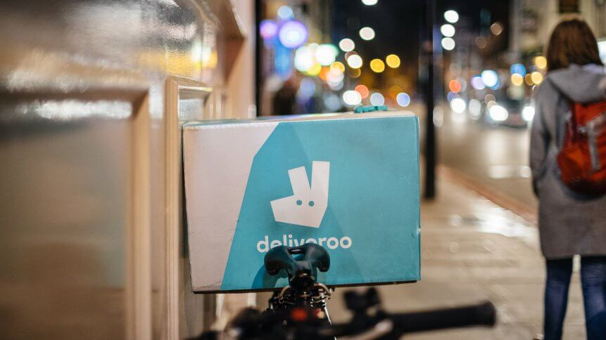 Deliveroo is powered by its partner network.