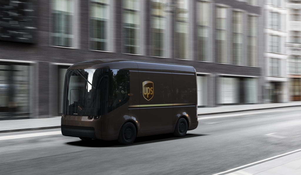 UPS is one of the firms Arrival has already worked with