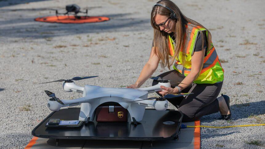 UPS Flight Forward Attains FAA's First Full Approval For Drone Deliveries Airline