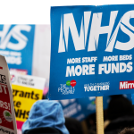 The NHS faces a constant battle for staff and resources.
