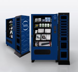 An IVM vending machine.