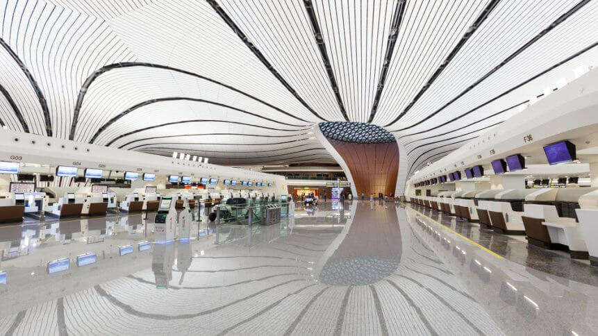 Beijing Daxing New International Airport Terminal