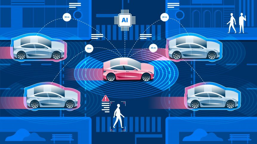 IoT will be crucial in autonomous vehicle communication.