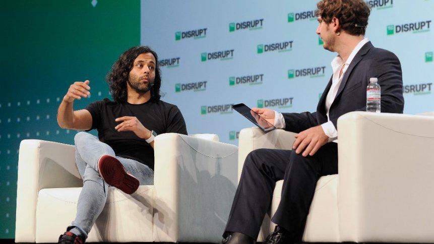 Robinhood (listed top 10 startup by LinkedIn) Co-Founder and Co-CEO Baiju Bhatt. Source: AFP