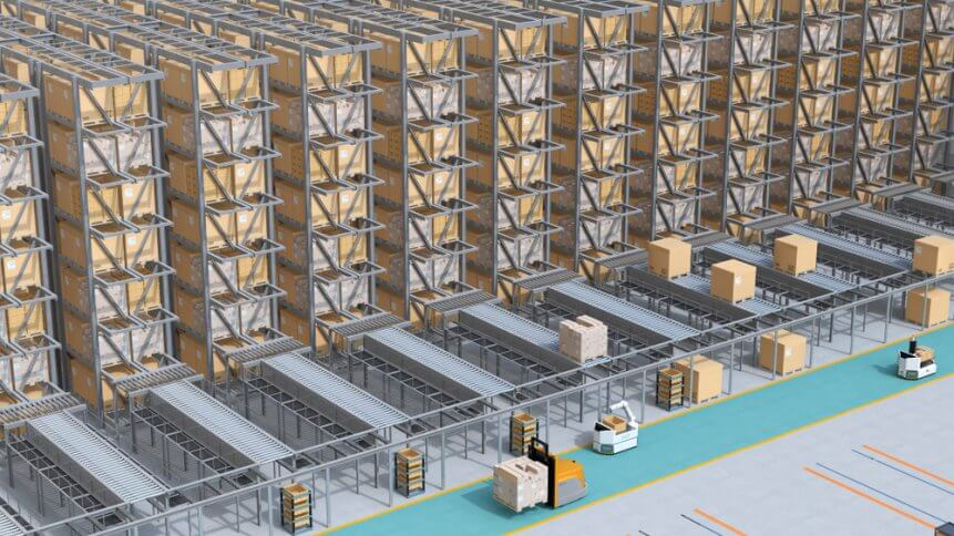Building the fulfillment centers of tomorrow, today. Source: Shutterstock