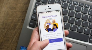 Microsoft Teams is breaking the traditional mold of video calls. Source: Shutterstock