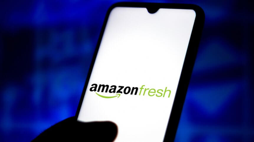 Amazon is offering free grocery delivery to its Prime members. Source: Shutterstock