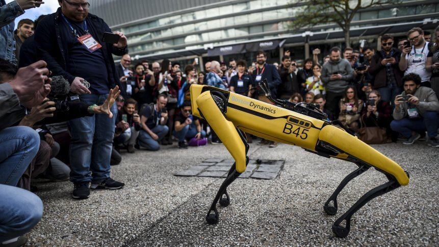 Boston Dynamics' 'Spot' robot.