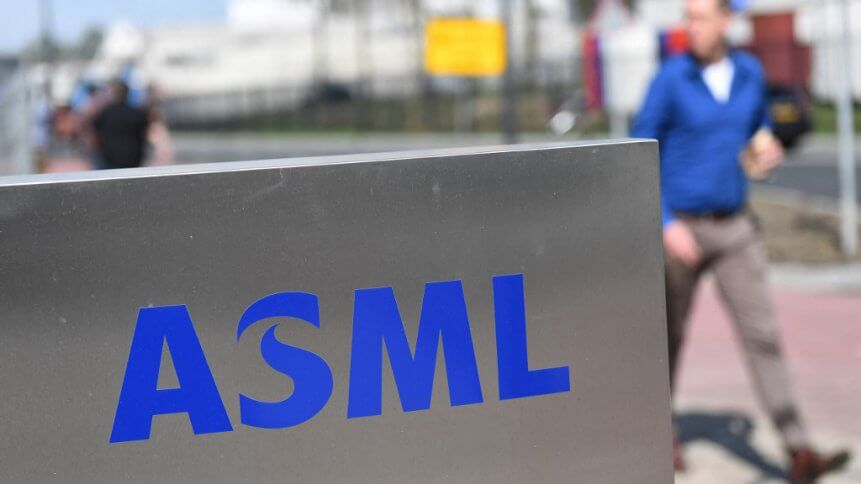 ASML makes the systems used by the semiconductor industry to manufacture the chips that go into products from mobile phones to cars