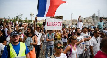 Despite major protests around data privacy, the government is nearing a law to authorize vaccine passports as a part of French lives going forward