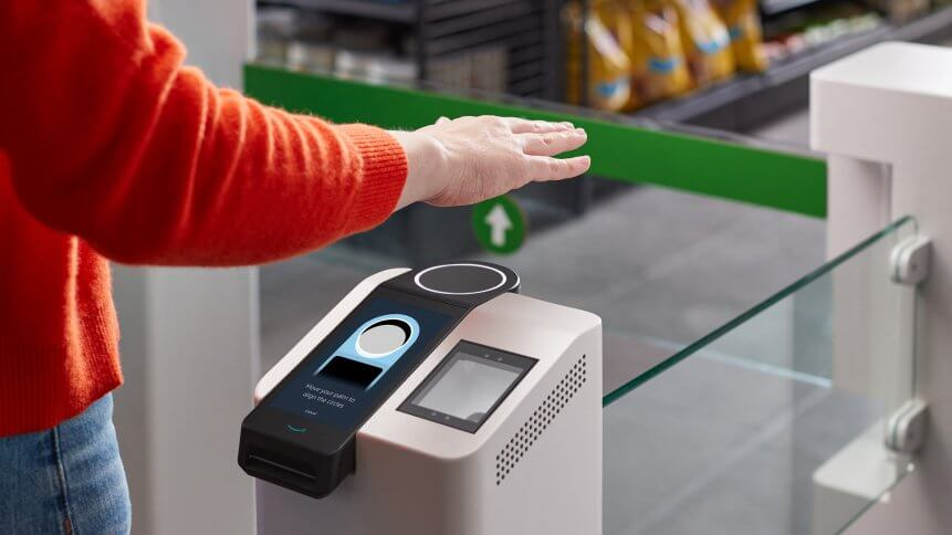 US lawmakers are asking hard questions about how the ecommerce giant's Amazon One hand-scanning payment system protects users' data and privacy rights