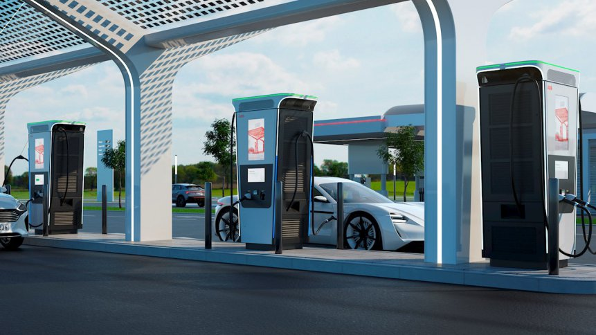 An electric vehicle charger by Swiss engineering company ABB is promising a far lesser charging time.